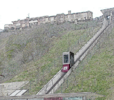 Ascensor inclinado