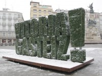 Escultura vegetal en Vitoria como Green Capital