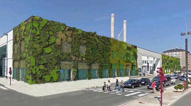 Urbanarbolismo redactará el proyecto de fachada vegetal del Palacio de congresos de Vitoria-Gasteiz.