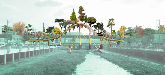 Puente bot nico west 8 urbanarbolismo for Piscinas naturales pdf
