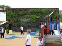 Jardín vertical educativo en Mallorca