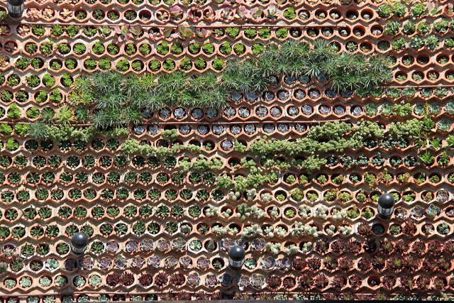 Comparativa entre sistemas constructivos de jardines verticales.