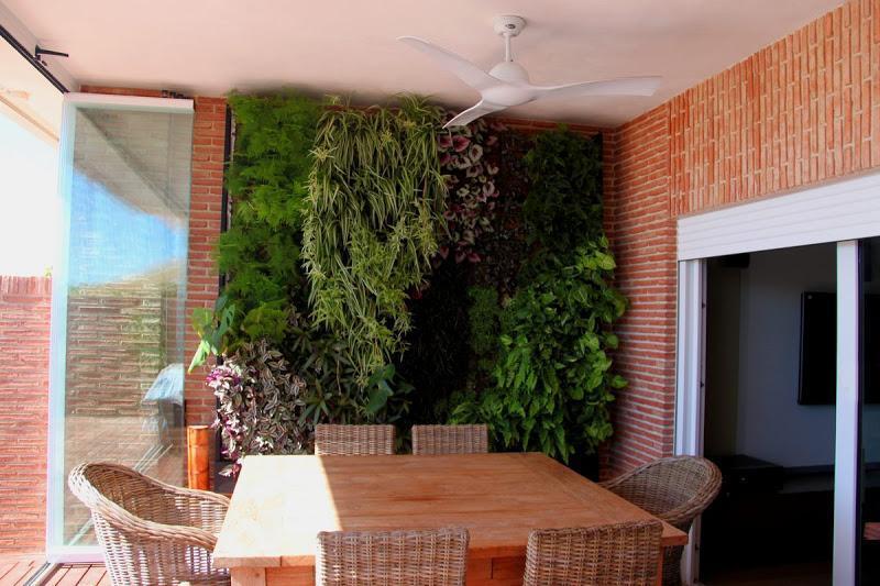 Muro verde archives urbanarbolismo - Jardines verticales de interior ...