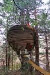 Casas en el árbol: la casa Nido