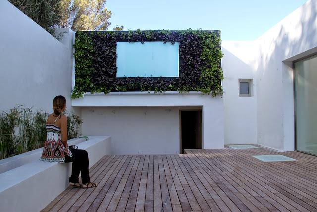 Jard n vertical en ibiza urbanarbolismo for Jardines verticales con tarimas