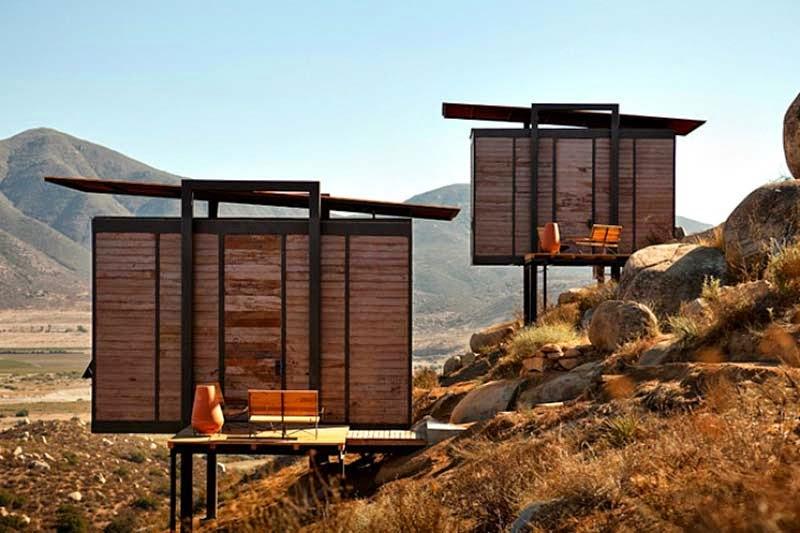 Casa ecol gica - Refugios de madera prefabricados ...