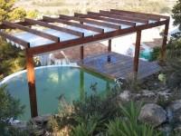 Evolución del diseño de una piscina natural