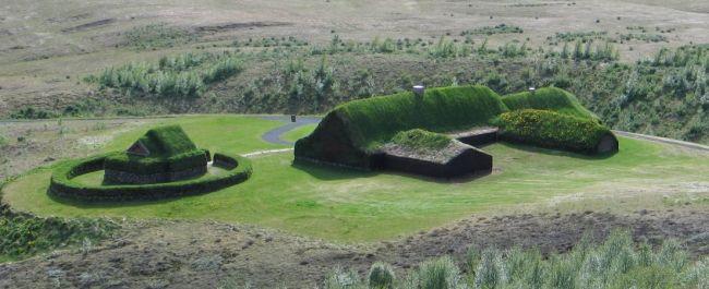 Reconstrucción de la granja Stöng