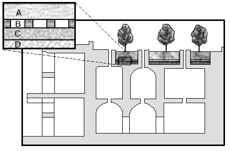 Cubierta vegetal en domus romana: Horti pensi