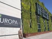 El jardín vertical de Vitoria recibe el premio a la Construcción Sostenible de la junta de Castilla y León.