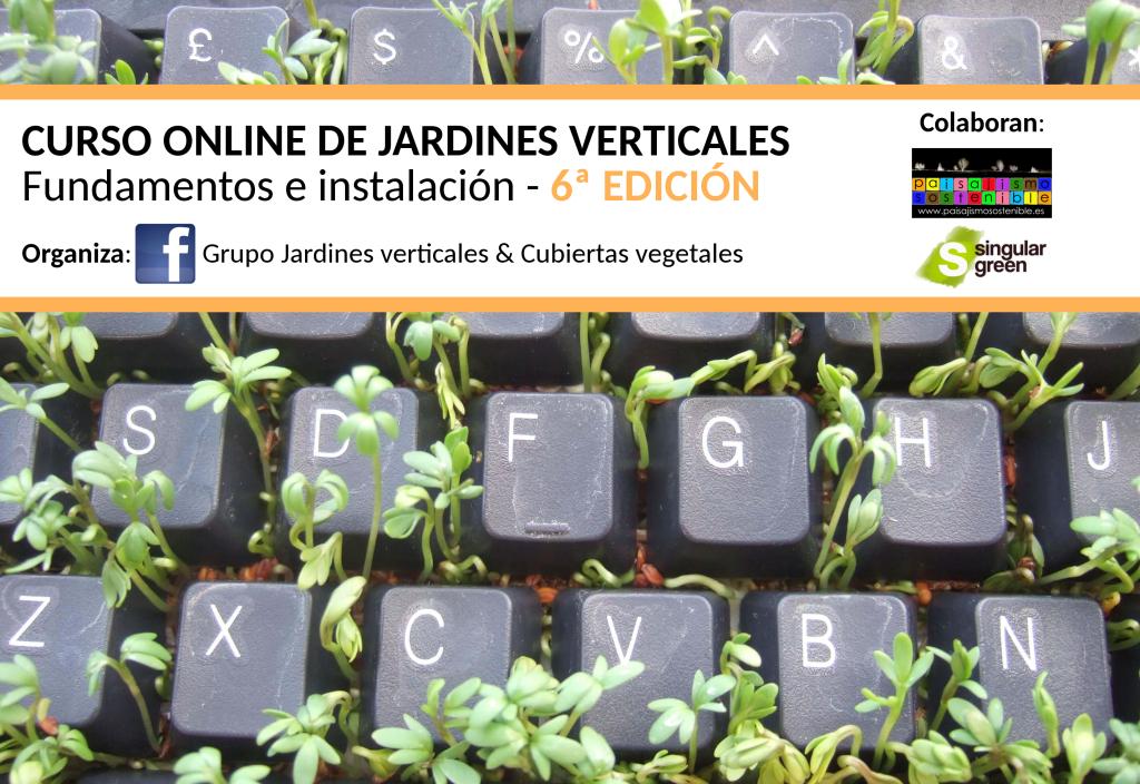 curso on line de jardines verticales