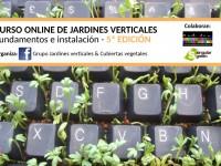 Curso online de Jardines Verticales: 6ª edición