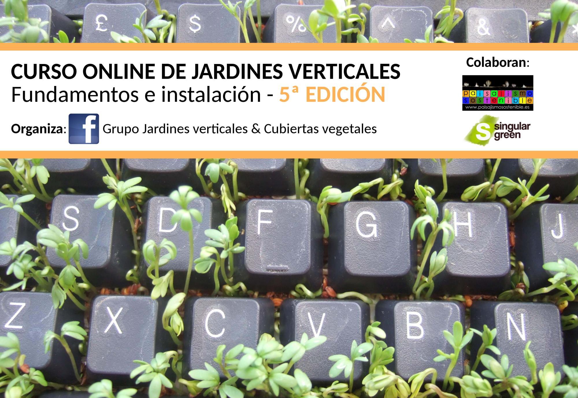 Curso online de jardines verticales 6 edici n for Jardines verticales pdf