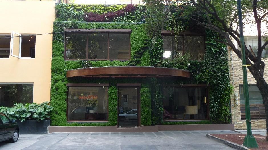 Jardines verticales en m xico los cinco mejores paperblog for Muros verdes definicion