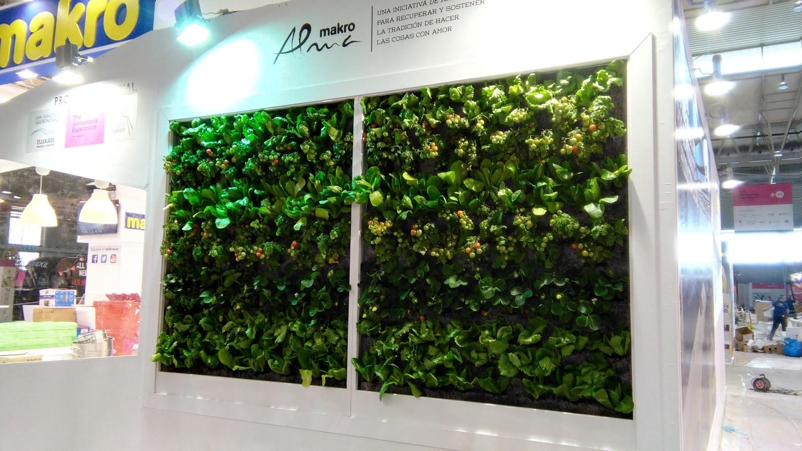 Estructuras para jardines verticales ideas de disenos for Jardin vertical verdecora