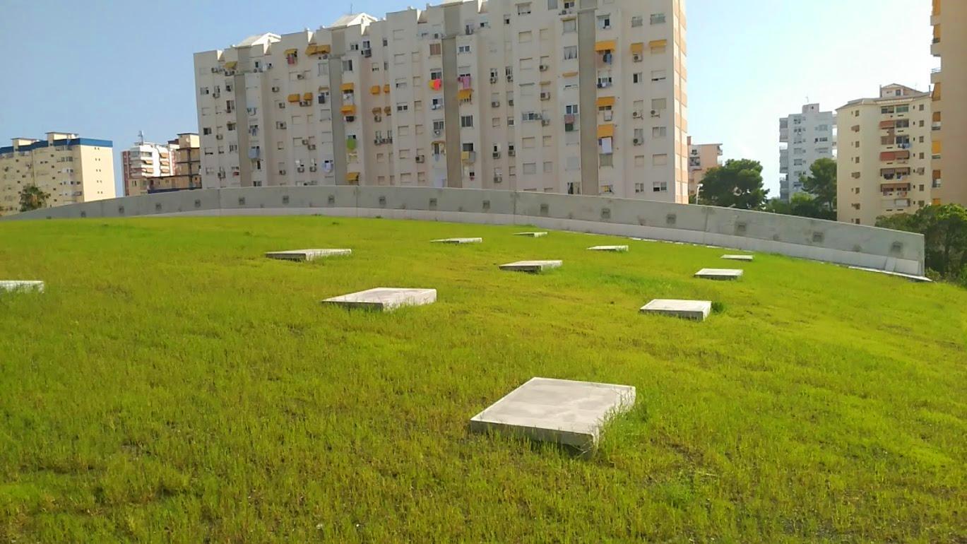 Pasos para construir una cubierta vegetal 1500m2 en for Jardines verticales valencia