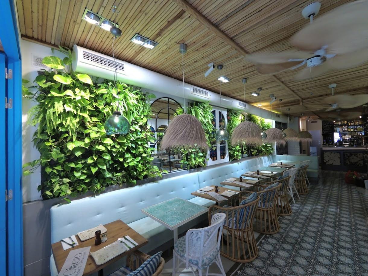 Jardines verticales en los restaurantes urbanarbolismo for Jardines verticales pdf