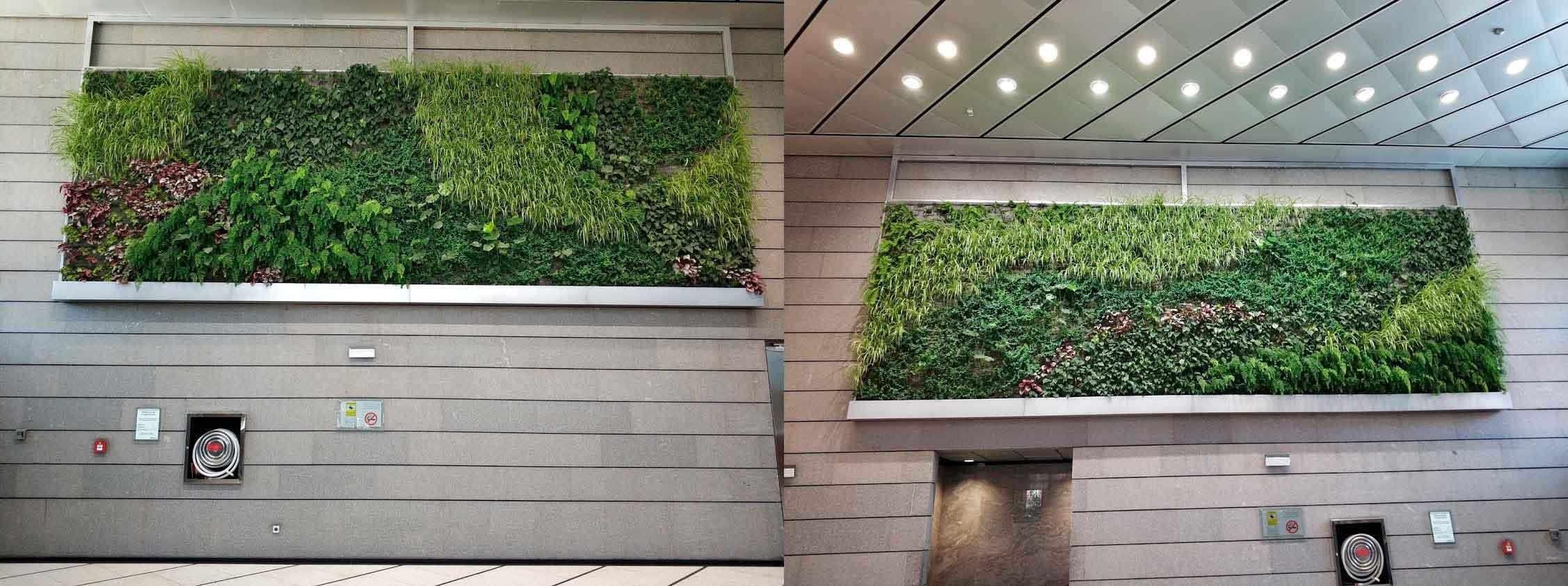 Jardines verticales en torre realia en madrid urbanarbolismo for Jardines verticales pdf