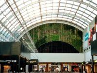 jardin vertical en Barcelona en Centro comercial Diagonal Mar